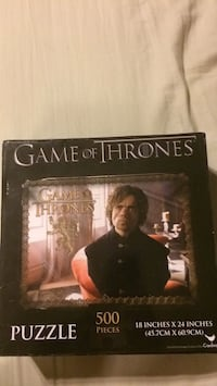 Game of thrones  500 piece puzzle . 52 km