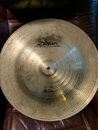"Zildjian 20"" Sound Lab Project 391 China cymbal."