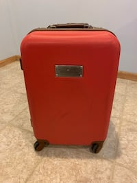 """20"""" Tommy Hilfiger 4-wheel Carry On Luggage Suitcase 593 mi"""
