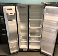 Whirlpool side by side dark stainless refrigerator  Reisterstown, 21136