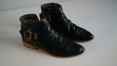 Leather boots size 41