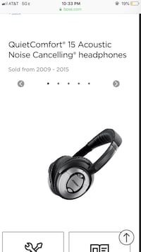 QuietComfort® 15 Acoustic Noise Cancelling® headphones Chicago, 60640