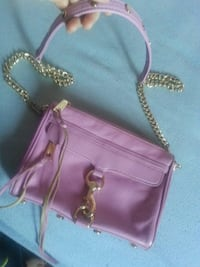Authentic Rebecca minkoff light purple shoulder ha Calgary, T2A 7E6