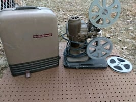 16mm projector Bell and Howell