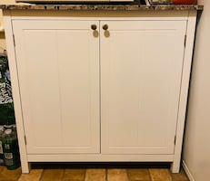MOVE OUT SALE- White kitchen pantry