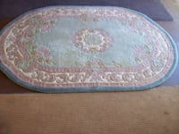 OVAL RUG ...  from  YOUNG  NSW SYDNEY