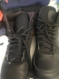 pair of black Air Jordan 11's Germantown, 20874
