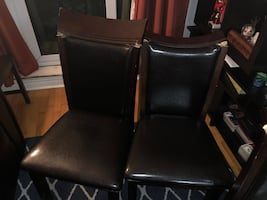 Dining chairs - 2 Nos.