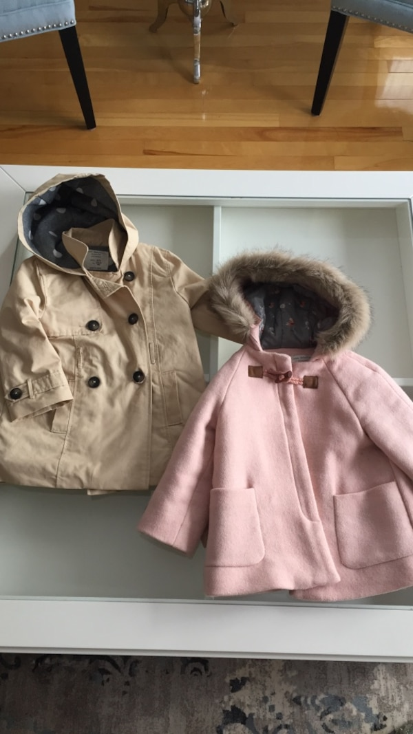 Zara jackets 2-3 years old