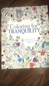 Colouring for TRANQUILITY  Toronto, M6M 0A2
