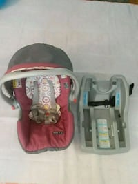 baby's pick and gray car seat carrier Meriden, 06451