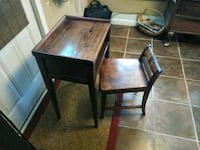 Circa 1940s gossip desk & chair Nashville, 37206