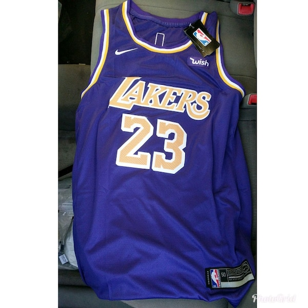 new product 033de 6bd16 Lakers Lebron James jersey hot!!!! Pickup now