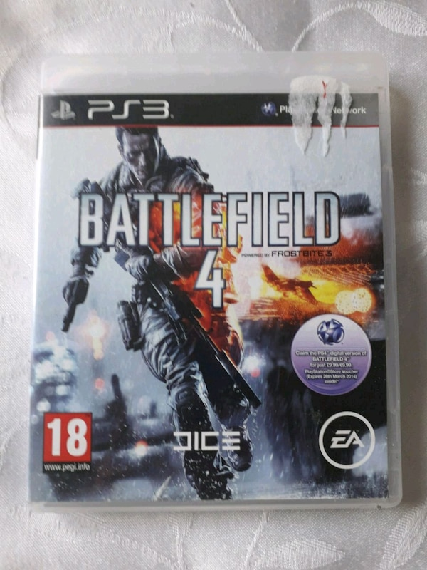 Sony PS3 Battlefield 4 game