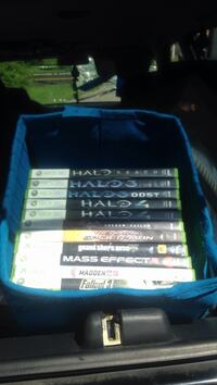 Assorted xbox 360 game cases Nashville, 37219