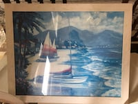 Pier One Boat Painting Virginia Beach, 23456