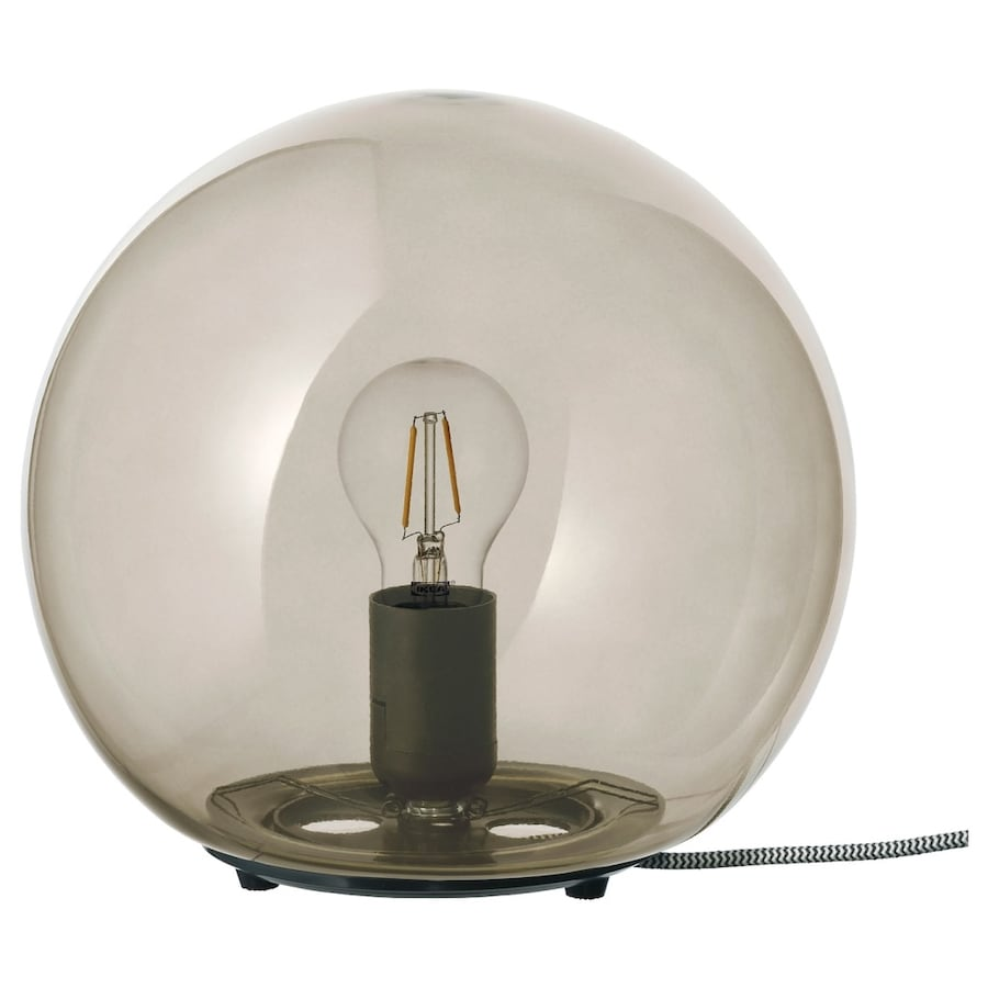 IKEA FADO Table Lamp with Vintage LED Bulb d0a2a1a4-3aa4-49e8-90b7-6a22e16c224a