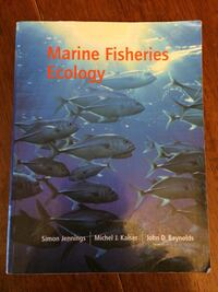 Marine Fisheries Ecology Textbook   St. John's, A1C