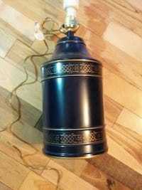 Dark navy blue lamp Clarence-Rockland, K0A 1E0