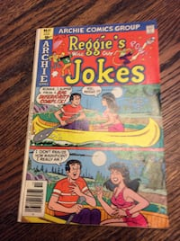 JUST REDUCED comic book Reggie's Wise Guy Jokes,  Reggie and Me  Rockville