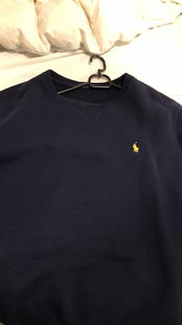 svart Polo Ralph Lauren crew-neck shirt