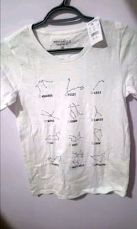 J Crew Constellation Horoscope T-shirt Xs Oakville, L6M
