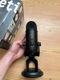 Blue Yeti Mikrofon (Blackout Edition)