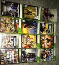 assorted Xbox 360 game case lot London, N5V 1W5