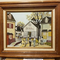 H. Hargrove Signed Painting  Wildwood, 63038