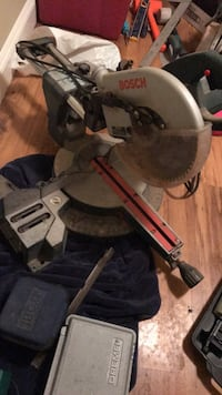 black and gray miter saw Surrey, V4N 2Z4