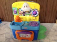 blue and yellow Fisher-Price learning toy Coquitlam, V3J 6H2