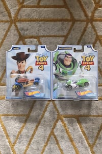 Hot Wheels Character Cars Disney Toy Story 4 - Woody x Buzz Lightyear