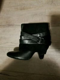 Black ankle boots  Calgary, T2A 2G7