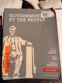 Government by the People book Long Beach, 90807