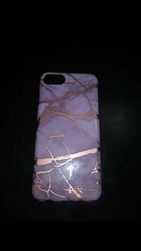 iPhone 7/6s gray and purple case