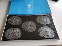 Collection 1986 Vintage Calgary Agriculture & Stampede Buckles