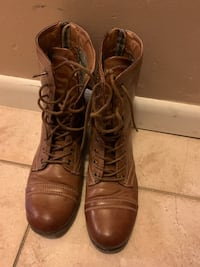 Brown boots Highland, 12528