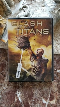 Clash of the Titans movie case
