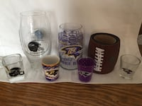 Raven football glass ware Cape Canaveral, 32920