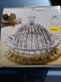 Crystal Plate with Dome Baltimore, 21202