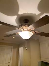 Ceiling Fan with light and foyer light Columbia, 29229