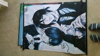 """Black Butler Fabric Wall Scroll Poster (16"""" x 23"""") Baltimore, 21209"""