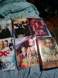six assorted DVD movie cases Little Ferry, 07643