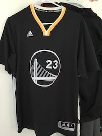 black Golden State Warriors 23 jersey