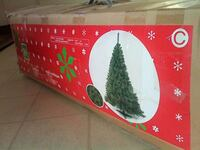 AS NEW XMAS TREE IN BOX WITH STAND INCLUDED ONLY $25 LONDONDERRY Edmonton, T5Z 2T1
