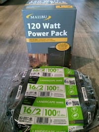 Malibu power pack and wire for landscaping 2338 mi
