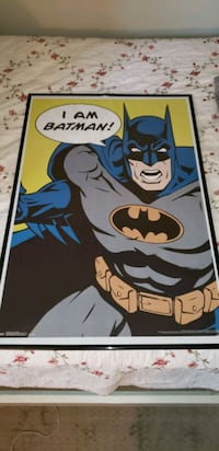 Original Trends 2273 vintage batman poster,  with DC trademark. Rockville, 20850