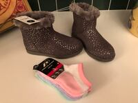 FOR SALE: Brand New Kids Girls Boots & Socks Albuquerque, 87121