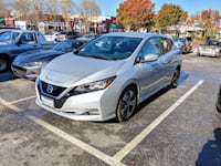 2018 Nissan Leaf SV silver Technology Package 2K miles 2399 mi