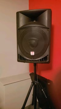 Speakers with stand for sale